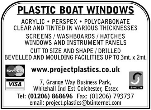 project plastics boat windows